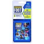 Panini Foot Championnat de France 2017-2018 - Blister 15 pochettes + 2 pochettes