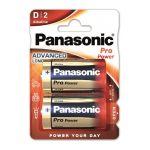 Panasonic Piles alcalines LR20 Pro Power x2