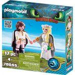 Playmobil Dragons - Astrid et Harold - 70045