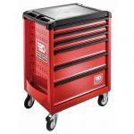 Facom ROLL.6M3 - Servante Roll M3 6 tiroirs rouge