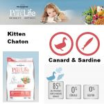 Flatazor Nourriture Pour Chats Pure Life Chat Kitten 2 Kg