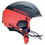 Rossignol Accessoires Hero Templar Sl Impacts Chinguard - Black / Red - Taille L-XL