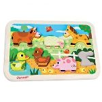 Janod Puzzle Chunky Ferme