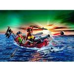 Playmobil 5137 - Barque des pirates avec requin-marteau