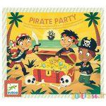 Djeco Activité pour anniversaire Pirate party