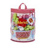 Ecoiffier Sac 50 Maxi Abrick + 15 Briques Gratuites