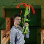 Hasbro Nerf Zombie Strike Arbalète DreadBolt