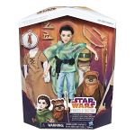 Hasbro Poupée aventurière Leia et peluche Ewok Star Wars Destiny