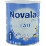 Novalac Lait 1er âge 800 g - de 0 à 6 mois