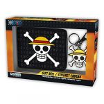 Abysse Corp Set porte-feuille & porte-clés One Piece Skull Luffy