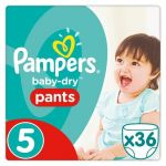 Pampers Baby-Dry Pants taille 5 (11-18 kg) - 36 couches-culottes