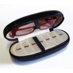 Hestec Etui pour lunettes et pilulier