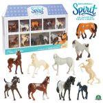 Giochi Preziosi Coffret de 10 mini chevaux Spirit au galop