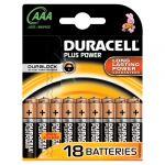 Duracell Piles Plus power - AAA - pack de 18
