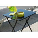 Hesperide Nindiri - Table d'appoint de jardin 40 x 40 cm
