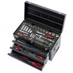 KS Tools Coffre à outils Ultimate équipé - 3 tiroirs et plateau - 100 pcs 922.0100 - KSTOOLS