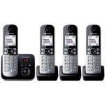 Panasonic KX-TG6824 - Téléphone sans fil répondeur