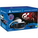 Sony PlayStation VR + Caméra V2 + Gran Turismo Sport + VR Worlds + Qui-es-tu ?