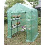 Viva Green Petunia - Serre tomate 2.04 m² (1.43 x 1.43 x 1.95 m)