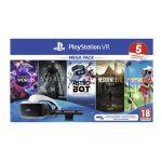 Sony PlayStation VR - MK4 Méga Pack 2 - 5 Jeux (VR Worlds + Skyrim + Astrobot + Everybody's Golf + Resident Evil 7)