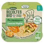 Blédina Repas Bébé Dès 15 Mois Couscous Végétal Bio - La Barquette De 250g