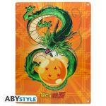 Abysse Corp Plaque métal - Dragon Ball - Shenron