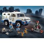 Playmobil 9371 - Fourgon blindé avec convoyeurs
