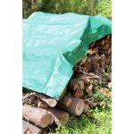 Cap Vert Bâche de stère bois - Dimensions 2 x 8 m