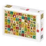 Dtoys Puzzle Pattern Dogs
