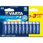 Varta 12 piles AA LR06 High Energy