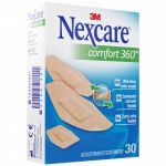 3M Nexcare confort 360 pansements assortis