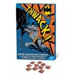 Calendrier de l'avent au chocolat Batman