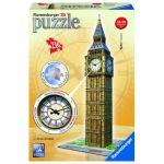 Ravensburger Puzzle 3D Big Ben avec horloge 216 pièces