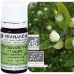 Pranarôm Huile essentielle Bio de myrte à cinéole, 5 ml