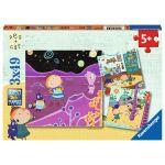 Ravensburger 3 Puzzles - Peg + Cat
