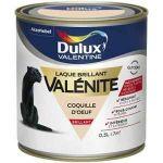 Dulux Valentine Peinture Laque Valénite Brillant Coquille D'oeuf 0,5 L