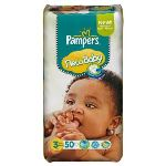 Pampers New Baby taille 3 Midi (4-7 kg) - 50 couches