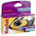 Kodak Power Flash - Appareil photo jetable avec flash (27+12 poses)
