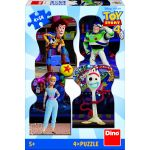 Dino 4 Puzzles - Toy Story 4