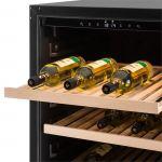 Klarstein Botella 120S - Cave de mise à températures 122 bouteilles