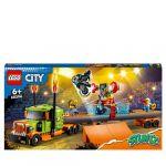 Lego City 60294 Le camion de spectacle des cascadeurs