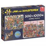 Jumbo Jan Van Hassteren, Faisons la fête ! - Puzzles 500 et 1000 pièces
