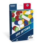 Ducale : boîte de jeu de 100 jetons