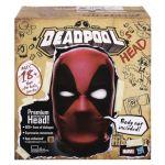 Hasbro Tête de Deadpool interactive qui parle en anglais Marvel Legends Edition collector