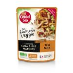 Céréal bio Plat Cuisiné Émincés Veggie Tex Mex - Le Sachet De 150g