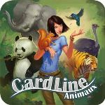 Asmodée Cardline animaux (boite métal)