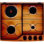 De Dietrich DPE7610FM - Table de cuisson mixte (gaz et électrique) 4 foyers