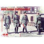 ICM Personnel d'état major de la seconde Guerre mondiale (4 figures)