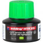 Edding Recharge Htk25 Pour Surligneur E24 Ecoline Vert