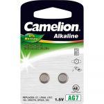 Camelion Pile bouton LR 57 alcaline(s) 45 mAh 1.5 V 2 pc(s)